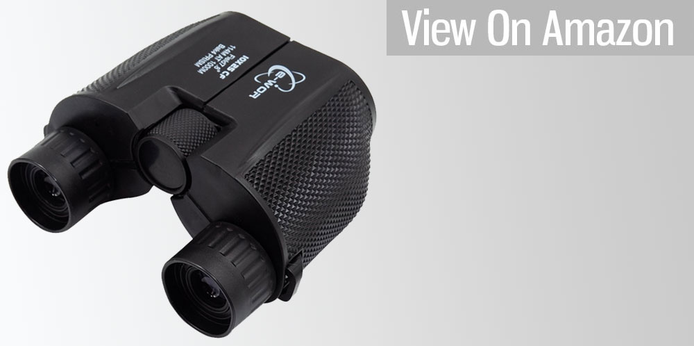 Compact Folding High Powered Binoculars with Weak Light Night Vision by Fayogoo